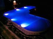 Чарующее светодиодное освещение бассейна - foto 1