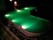 Чарующее светодиодное освещение бассейна - foto 2