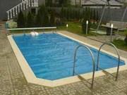 Летнее накрытие для бассейна (солярная пленка,  сматывающие устройства) - foto 1