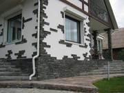 услуги по укладке тротуарной плитки,  природного камня,  гранитной брусч - foto 0