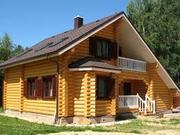 Строительство домов,  беседок,  бань,  коттеджей из сруба Днепр и область - foto 1