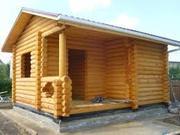 Строительство домов,  беседок,  бань,  коттеджей из сруба Днепр и область - foto 4