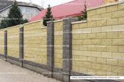 Блок декоративный (заборный) - foto 0