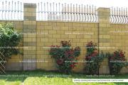 Полублок декоративный (заборный)