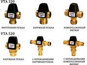 Трехходовой клапан для отопления с терморегулятором