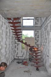 Лестница в дом. (Внутренняя)