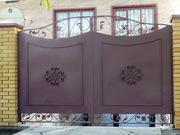 Ворота металлические - foto 2