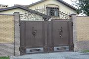 Ворота металлические - foto 3