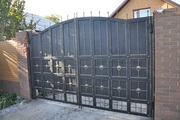 Ворота металлические - foto 6
