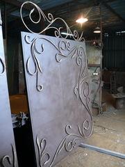 Ворота металлические - foto 10