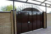 Ворота металлические - foto 11