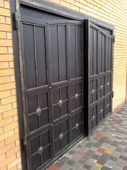 Ворота металлические - foto 17