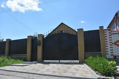 Ворота металлические - main