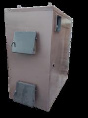 Твердотопливный пиролизный котел воздушного отопления KFPV-150  от про