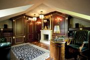 Дизайн кабинета в частном доме и квартире