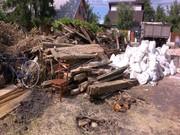 Снос старых ветхих домов и построек в Днепре