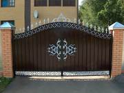 Еврозабор,  ворота профлист,  решетки на окна,  ЖБИ-кольца,  автонавесы