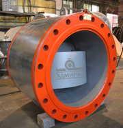 Клапаны обратные дисковые с резиновым уплотнением Ду 300-1200
