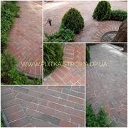 Укладка тротуарной плитки гранитной и клинкерной брусчатки